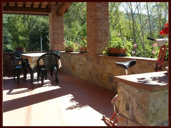 Casa al Borro: Terrazzo