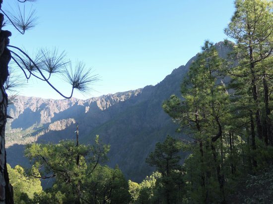 Caldera de Taburiente National Park: Blick nach rechts
