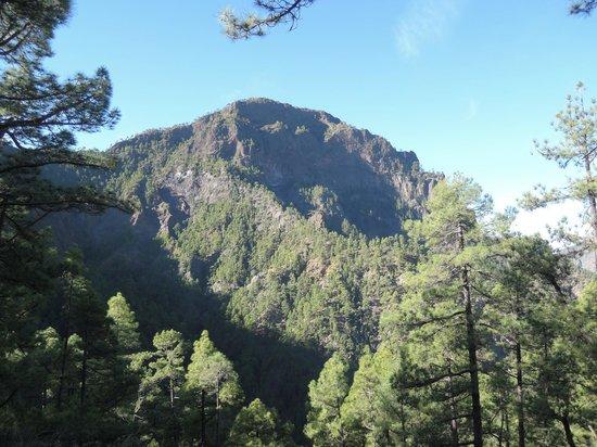 Caldera de Taburiente National Park: Blick nach links (vom Aussichtspunkt)