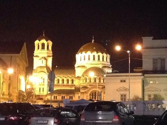 InterContinental Sofia : Alexander-Newski-Kathedrale direkt gegenüber des Hotels