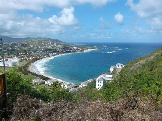 The peak where you can see the atlantic ocean meet the caribbean sea welcome tours st kitts and nevis the peak where you can see the atlantic publicscrutiny Images