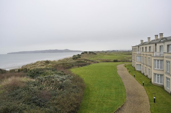 Portmarnock Hotel and Golf Links: View from Room 304