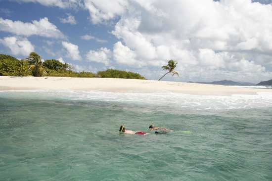 Tropic Power Boat Rentals: See Sandy Spit up close