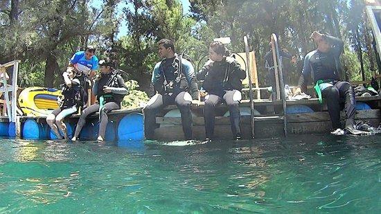 Media Luna School of Diving : Listos para la inmersion