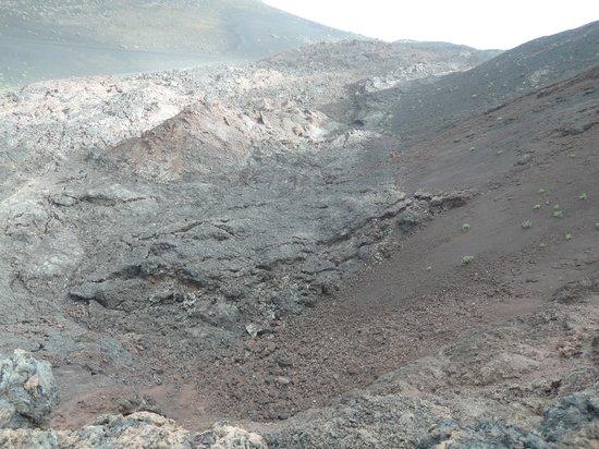 Volcan Teneguia: Erkaltete Lavafelder