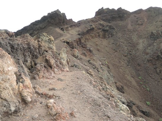 Volcan Teneguia: Aufstieg