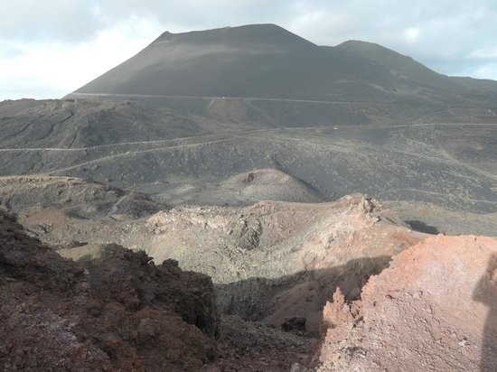 Volcan Teneguia: Blick auf den San Antonio