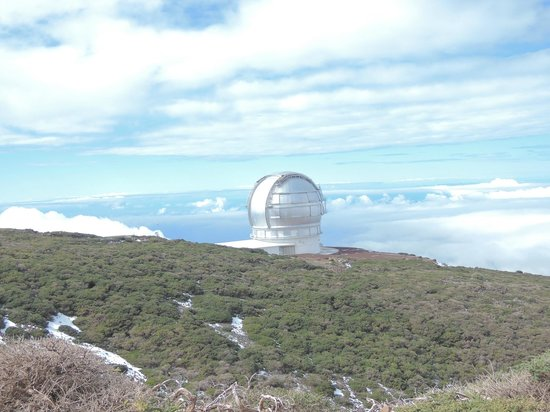 Roque de los Muchachos: Gran Telescopio Canarias