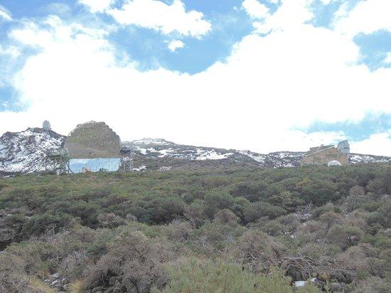 Roque de los Muchachos: MAGIC-Teleskop