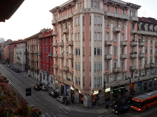 Hotel Florence: View from the balcony