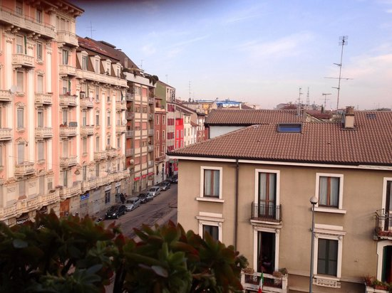 Hotel Florence: From the balcony on the last floor