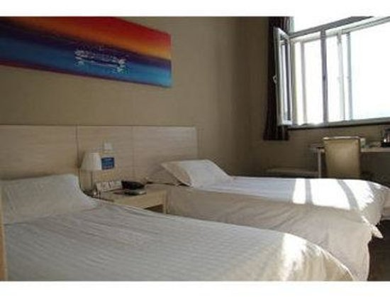 Super 8 (Beijing Xuan Wu Men): Two Twin Bed Room