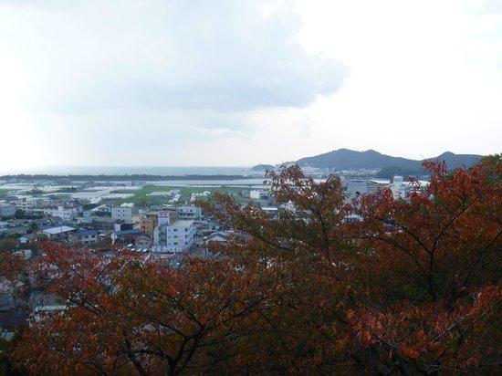 Kimiidera Temple : 境内からの見晴らし