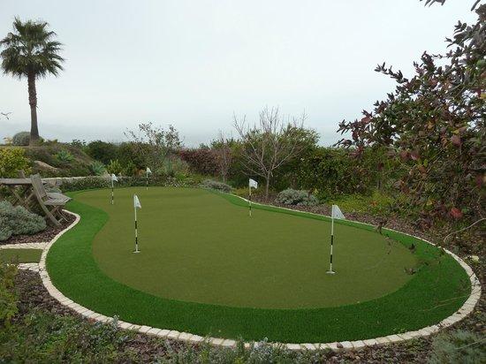 Bed & Breakfast Villa Laguna : putting green