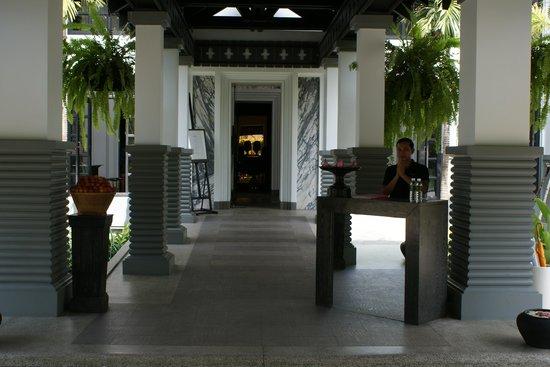 Shinta Mani Club: a welcome reception