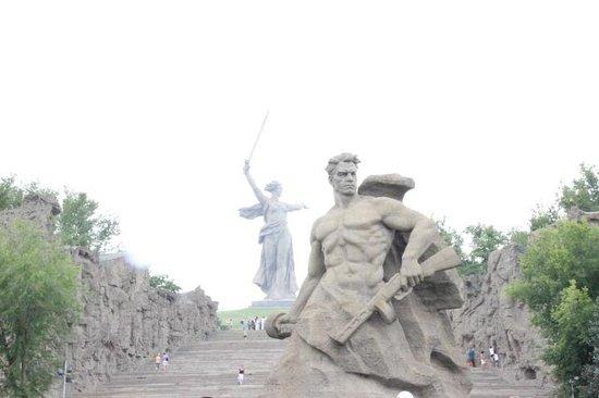 Mamayev Hill Monuments: Мамаев курган