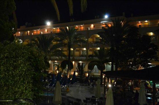 Dunas Mirador Maspalomas: view from pool bar.