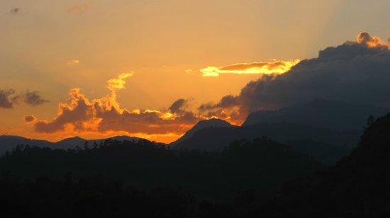 La Casa de Cafe: Sunset view