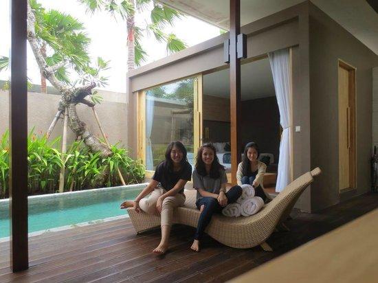 ASA Bali Luxury Villas: direct room to pool