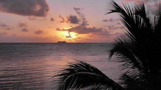 Balamku Inn on the Beach: Dawn January 2nd