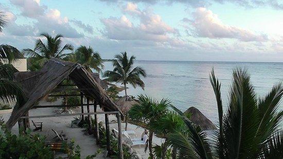 Balamku Inn on the Beach: View from balcony