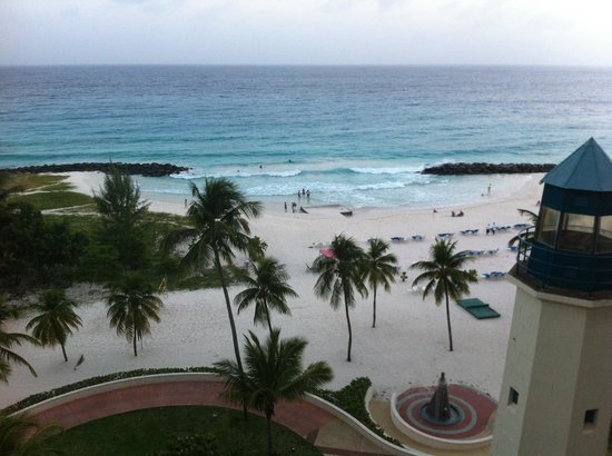 Hilton Barbados Resort: View from room 415 balcony at Barbados Hilton Resort.
