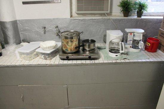 Miami Beach International Traveler's Hostel: Кухня