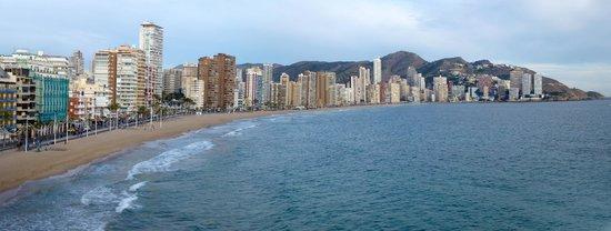 Hotel Don Pancho: Levante Beach Panorama
