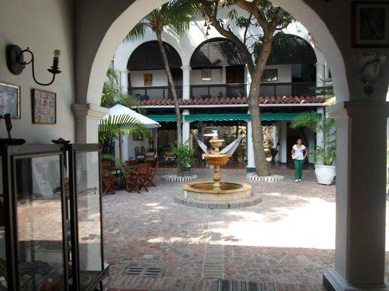 Hotel Casa de las Palmas : Patio Principal