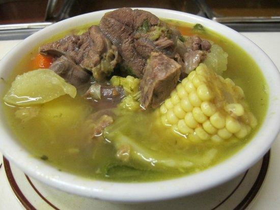 Caldo de Rez beef stew beef soup Picture of Alicias  : alicia s mexican food from www.tripadvisor.com size 550 x 412 jpeg 41kB