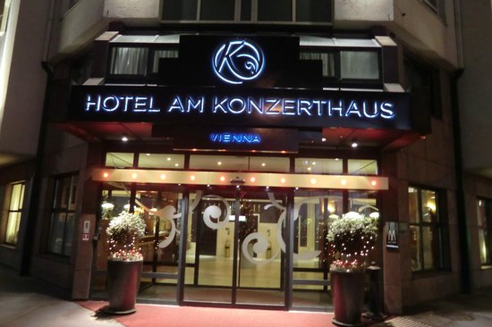 Hotel Am Konzerthaus Vienna MGallery by Sofitel: main entrance