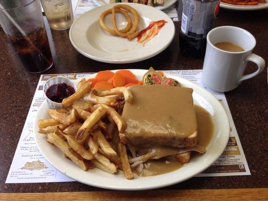 Rapid Valley Restaurant : Hot turkey sandwich - huge & delicious!