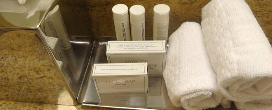 TownePlace Suites Buffalo Airport: Paul Mitchell amenities