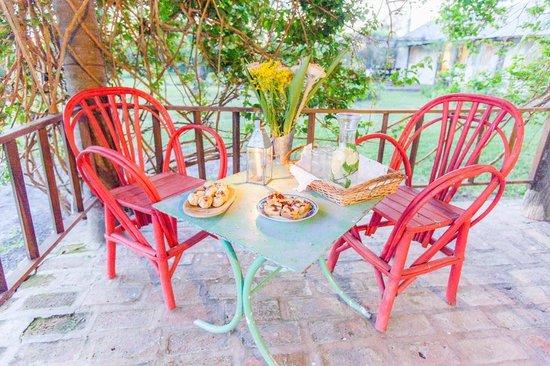 Casa Santa Ana del Ibera: Terrazas