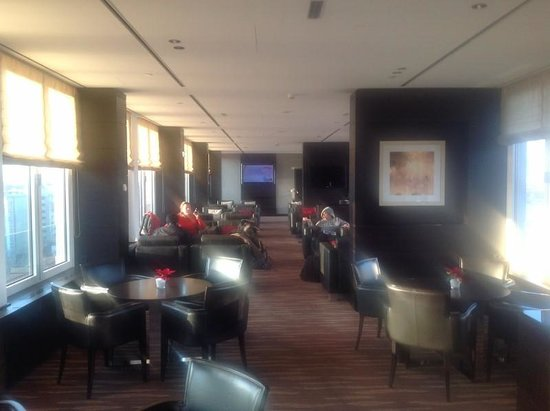 Hilton Vienna Danube Waterfront : executive lounge