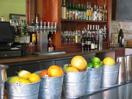 Mateo's Cocina Latina : Lots of tequilla at the bar