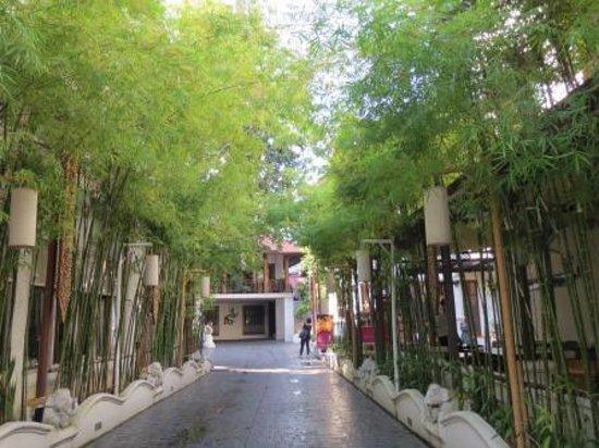 De Naga Hotel Entrance