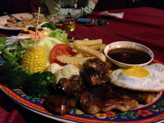 El Cactus Bistro and Bar : The very generous and delicious Indulgence Steak