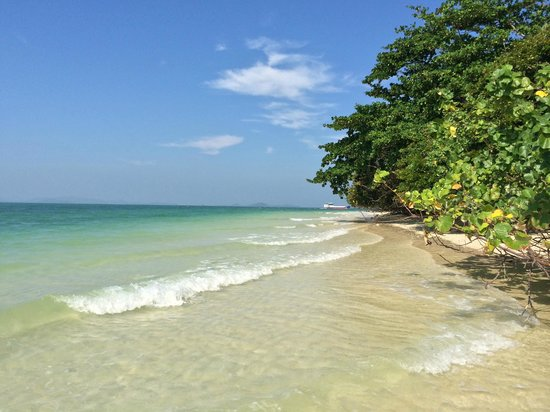 Rang Yai Island: Walked up the beach and had it to ourselves