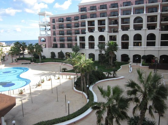 The Westin Dragonara Resort, Malta: View from room