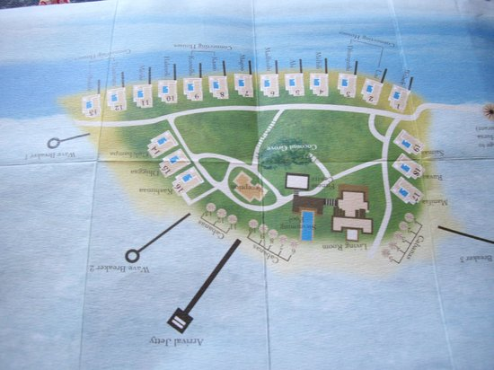 Naladhu Private Island Maldives: map