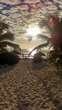 Playa Mambo : Morning Beach!