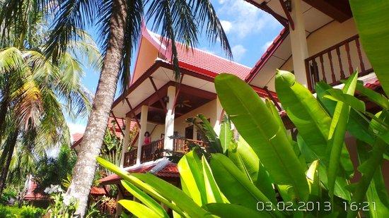Palm Village: deuxiéme étage de l'oriental style house