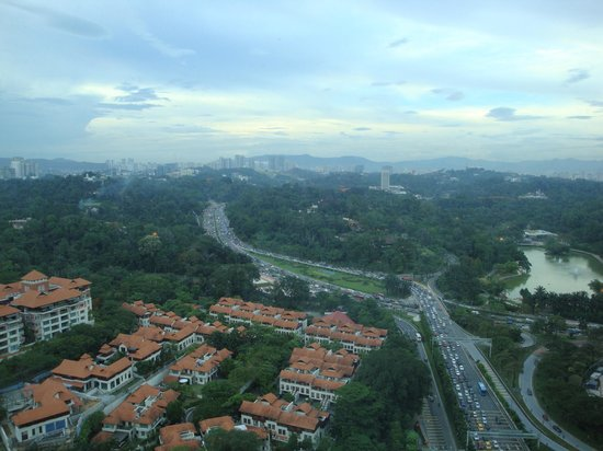 Hilton Kuala Lumpur: View from the top