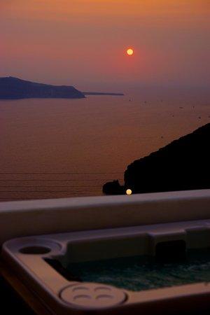 Allure Suites: romantic sunset
