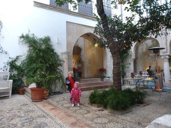 Balcon de Cordoba: холл номера