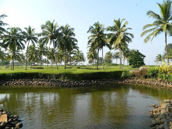 Taj Exotica Resort & Spa Goa: lake area