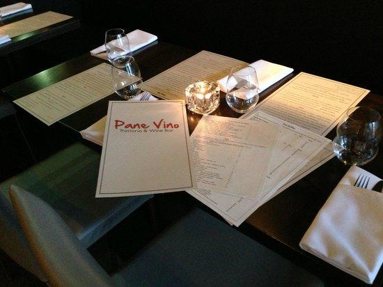 Pane Vino Trattoria & Wine Bar: Service!!!