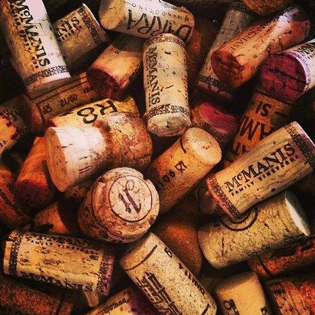 Pane Vino Trattoria & Wine Bar: Corks!!! Corks!!! Corks!!!