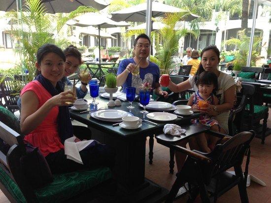 Shinta Mani Angkor : Lunch at Green, Shinta Mani Resort
